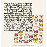 My Minds Eye - My Story Collection - 12 x 12 Double Sided Paper with Foil Accents - This Moment