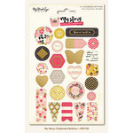 My Mind's Eye - My Story Collection - Chipboard Buttons