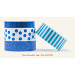 My Minds Eye - Necessities Collection - Blues - Decorative Tape