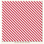My Minds Eye - Necessities Collection - Reds - 12 x 12 Vellum Paper - Stripe