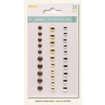 My Minds Eye - Necessities Collection - Metallic - Metal Dots