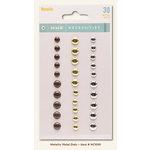 My Minds Eye - Necessities Collection - Metallic - Metal Dots