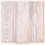 My Minds Eye - Necessities Collection - Wood - 12 x 12 Plank Wood Paper