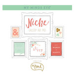 My Minds Eye - Niche Collection - On Trend - 12 x 12 Gallery Art Pad with Foil Accents
