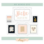 My Minds Eye - Niche Collection - Fancy That - 12 x 12 Gallery Art Pad with Foil Accents