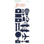 My Minds Eye - Niche Collection - Hello World - Foam Stickers