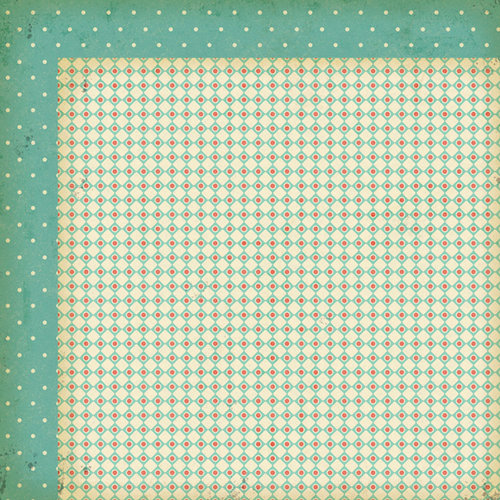 My Mind's Eye - Nostalgia Collection - 12 x 12 Double Sided Paper - Vintage