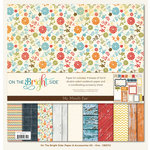 My Mind's Eye - On The Bright Side Collection - One - 12 x 12 Paper Kit