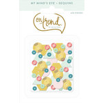 My Mind's Eye - On Trend Collection - Happy - Sequins
