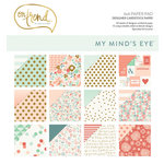 My Mind's Eye - On Trend Collection - 6 x 6 Paper Pad with Foil Accents