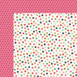My Minds Eye - On Trend 2 Collection - 12 x 12 Double Sided Paper with Foil Accents - Graphic