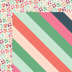 My Minds Eye - On Trend 2 Collection - 12 x 12 Double Sided Paper - Vivid