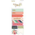 My Mind's Eye - On Trend 2 Collection - Cardstock Stickers - Alphabet and Word