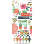 My Mind's Eye - On Trend 2 Collection - Cardstock Stickers