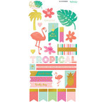 My Minds Eye - Palm Beach Collection - Cardstock Stickers