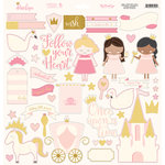My Mind's Eye - Penelope Collection - 12 x 12 Chipboard Stickers - Elements