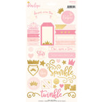 My Mind's Eye - Penelope Collection - Cardstock Stickers with Foil Accents