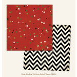 My Minds Eye - Sleigh Bells Ring Collection - Christmas - 12 x 12 Double Sided Paper - Christmas Confetti