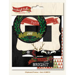 My Minds Eye - Sleigh Bells Ring Collection - Christmas - Chipboard Frames
