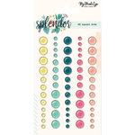 My Mind's Eye - Splendor Collection - Enamel Dots