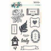 My Mind's Eye - Splendor Collection - Clear Acrylic Stamps