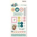 My Mind's Eye - Splendor Collection - Planner Sticker Set