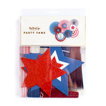 My Minds Eye - Stars and Stripes Collection - Party Fans