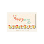 My Mind's Eye - The Sweetest Thing Collection - Tangerine - Title - Happy