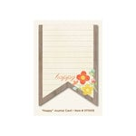 My Mind's Eye - The Sweetest Thing Collection - Tangerine - Journal Card - Happy