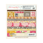 My Mind's Eye - The Sweetest Thing Collection - Honey - 6 x 6 Paper Pad