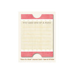 My Mind's Eye - The Sweetest Thing Collection - Honey - Journal Card - One of a Kind
