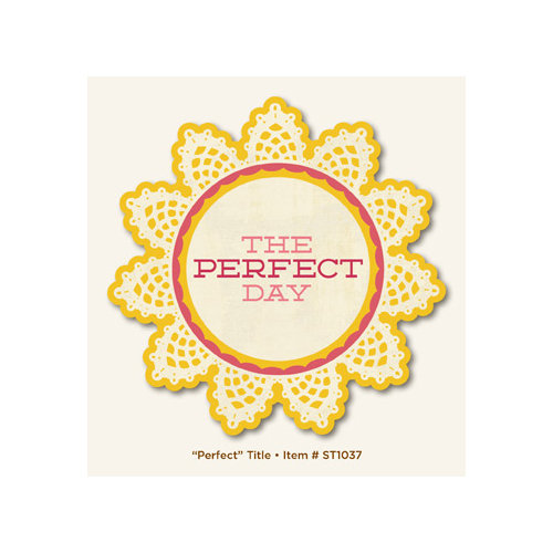 My Mind's Eye - The Sweetest Thing Collection - Honey - Title - Perfect
