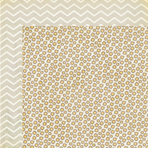 My Mind's Eye - The Sweetest Thing Collection - Bluebell - 12 x 12 Double Sided Paper - Bright Meadow