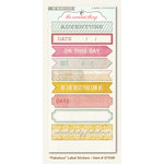 My Mind's Eye - The Sweetest Thing Collection - Lavender - Cardstock Stickers - Fabulous Label