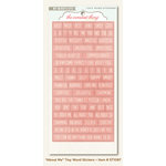 My Mind's Eye - The Sweetest Thing Collection - Lavender - Cardstock Stickers - Tiny Word - About Me