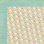 My Mind's Eye - The Sweetest Thing Collection - Lavender - 12 x 12 Double Sided Paper - Cutie Pie Adorable