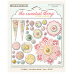 My Mind's Eye - The Sweetest Thing Collection - Lavender - Decorative Brads - The Best