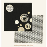 My Mind's Eye - Something Wicked Collection - Halloween - 12 x 12 Double Sided Paper - Moonlight