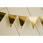 My Minds Eye - Trend Collection - Mini Banner - Gold