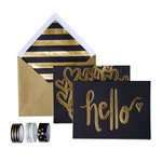 My Minds Eye - Trend Collection - Card Box Kit - Hello