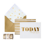 My Minds Eye - Trend Collection - Card Box Kit - Today I Thought of You