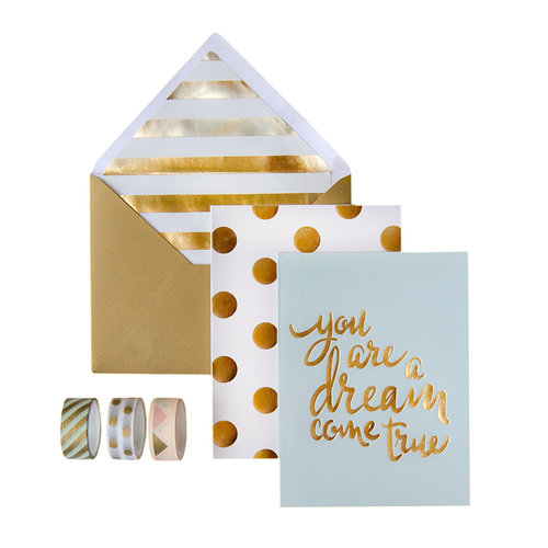 My Minds Eye - Trend Collection - Card Box Kit - You are a Dream Come True