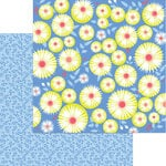 My Mind's Eye - Tutti Frutti Collection - 12 x 12 Double Sided Paper - Blueberry Hill