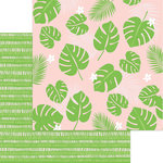 My Mind's Eye - Tutti Frutti Collection - 12 x 12 Double Sided Paper - Copacabana