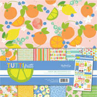 My Mind's Eye - Tutti Frutti Collection - 12 x 12 Collection Pack with Foil Accents