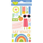 My Mind's Eye - Tutti Frutti Collection - Chipboard Stickers