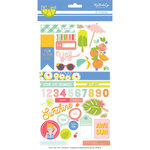 My Mind's Eye - Tutti Frutti Collection - Cardstock Stickers
