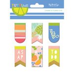 My Mind's Eye - Tutti Frutti Collection - Magnetic Clips with Foil Accents