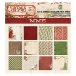 My Mind's Eye - Vintage Christmas Collection - 6 x 6 Paper Pad