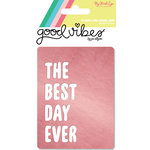 My Mind's Eye - Good Vibes Collection - Journal Cards with Foil Accents